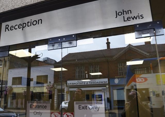 John Lewis at Queensgate in Peterborough. EMN-210324-140931009