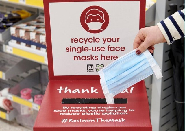 Wilko to be teh first high street stores to trial a single use face mask recycling scheme. EMN-210325-111417001