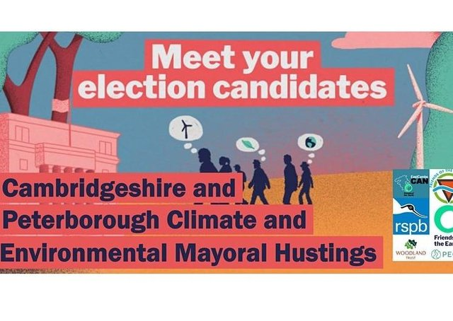 An environmental hustings is being held for mayoral candidates
