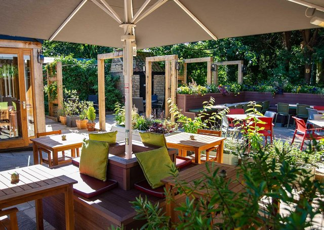 Outdoor dining is returning to the Blue Bell in Glinton.