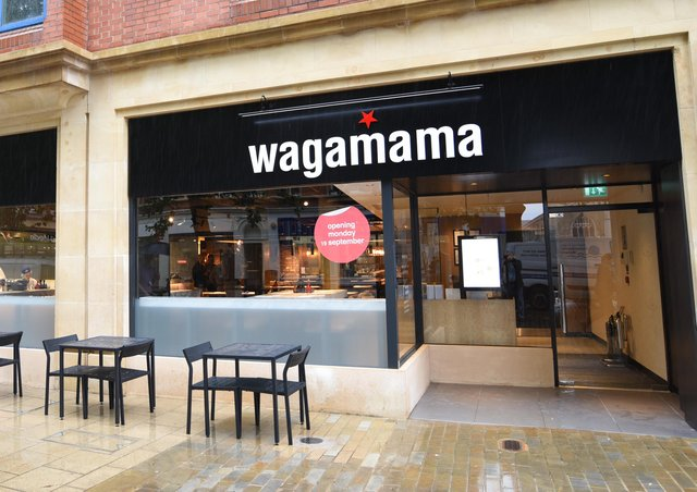 Wagamama in Long Causeway. (Archive image)