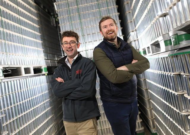 Ciaran Gorman and Darren Fenton, co-founders of Bevcraft.