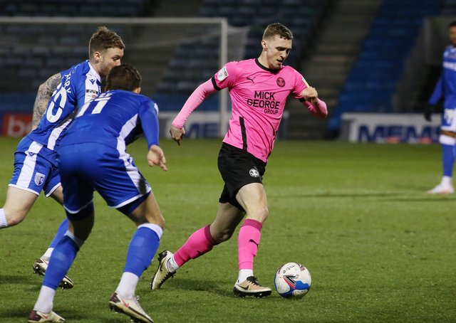Posh star Jack Taylor has recovered from injury.