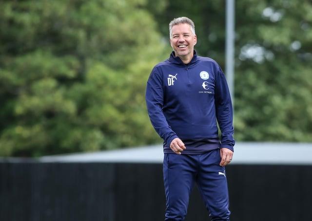 Posh manager Darren Ferguson.