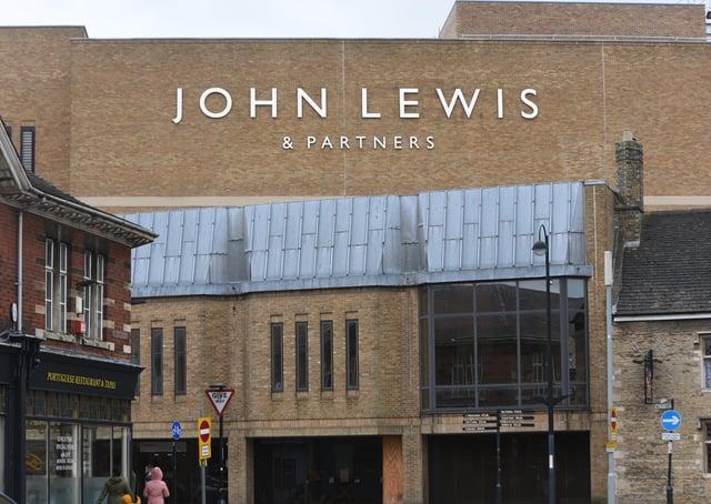 John Lewis at Queensgate, Peterborough. EMN-210324-141206009