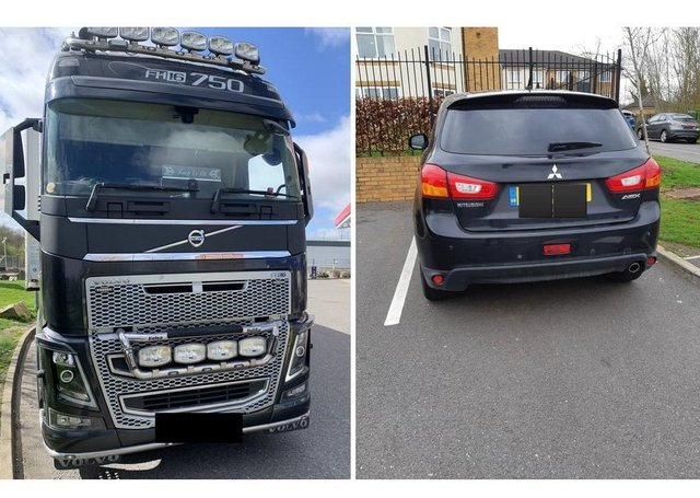 Vehicles seized in the Peterborough area. All photos from the BCH Road Policing Unit