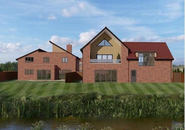 A fabulous riverside home at Deeping Gate