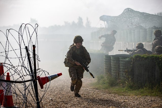 Force Protection Training Flight were actively involved in Exercise Resolute Convoy last year, keeping the core military skills of RAF Wittering personnel at readiness.