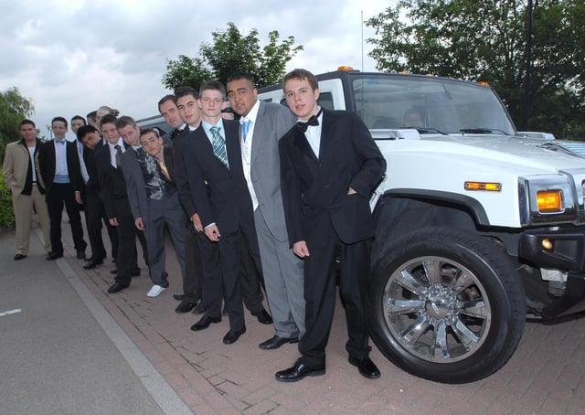 Bushfields School prom, Marriott Hotel, 2008.