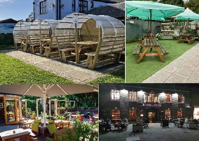 Some of the pub and restaurant gardens waiting for you from April 12