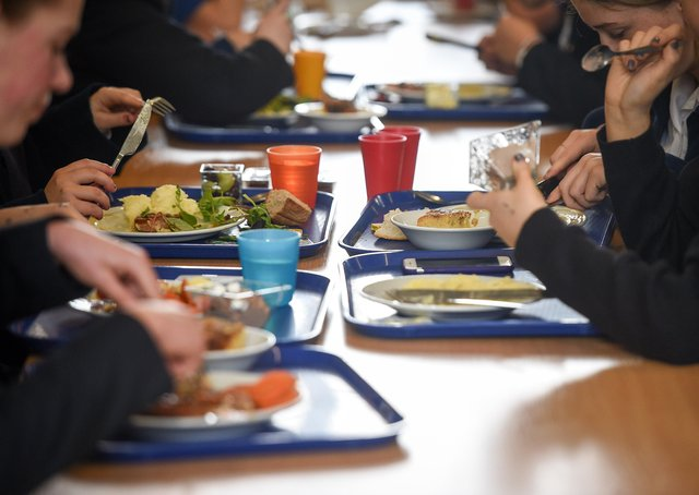 More than 1,600 children in Peterborough became eligible for free school meals during the coronavirus pandemic, figures show. Photo: PA EMN-210804-123319001
