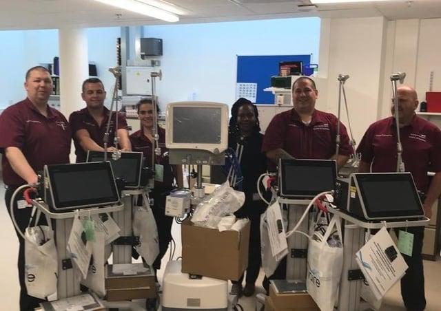 New ventilators at Royal Papworth Hospital