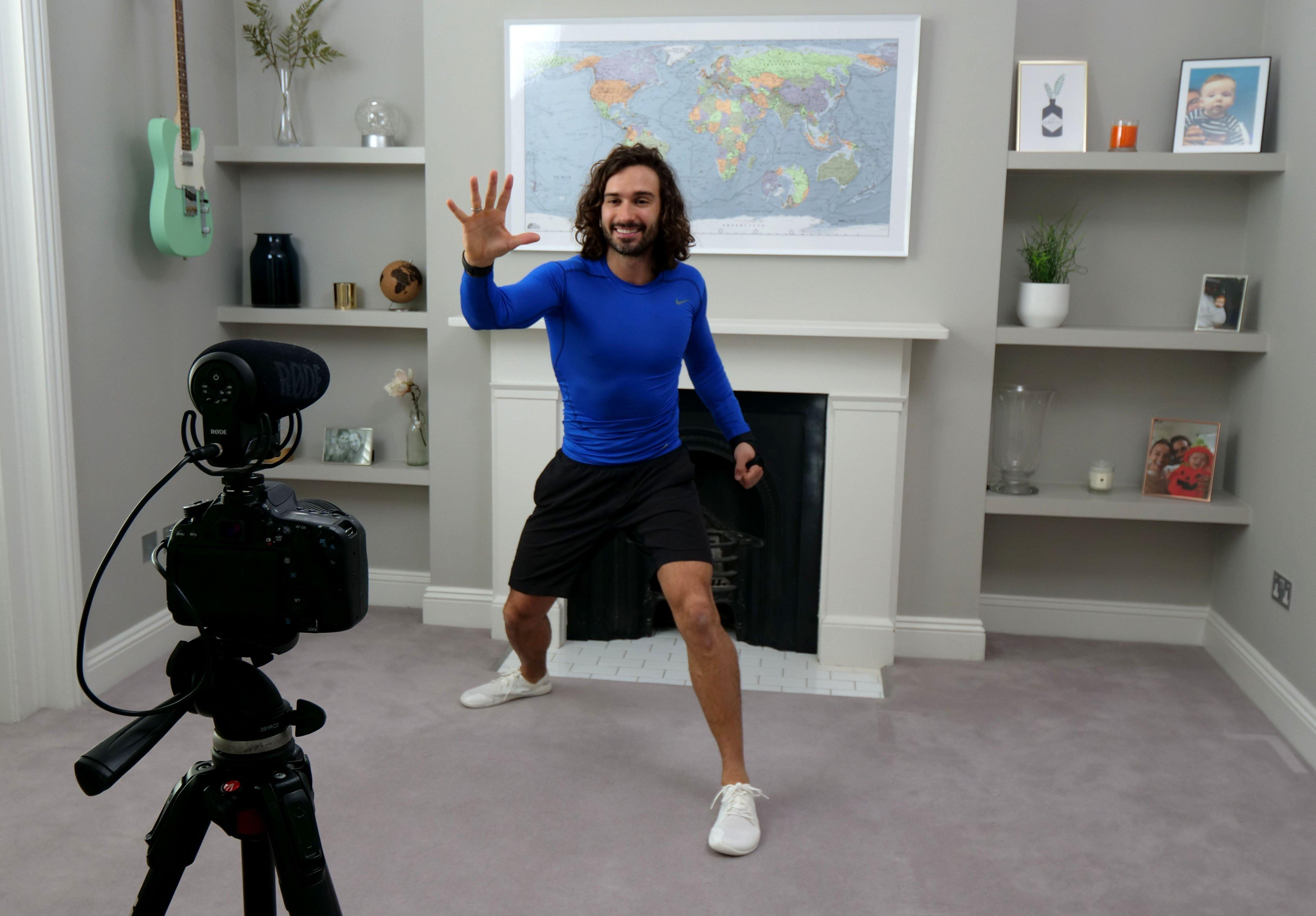 Joe Wicks workout videos made more accessible thanks to ...