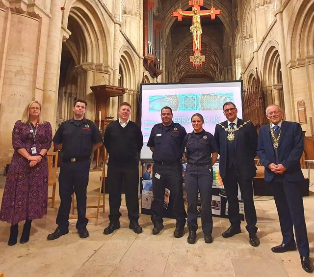 The event saw a number of people from different communities and organisations come together