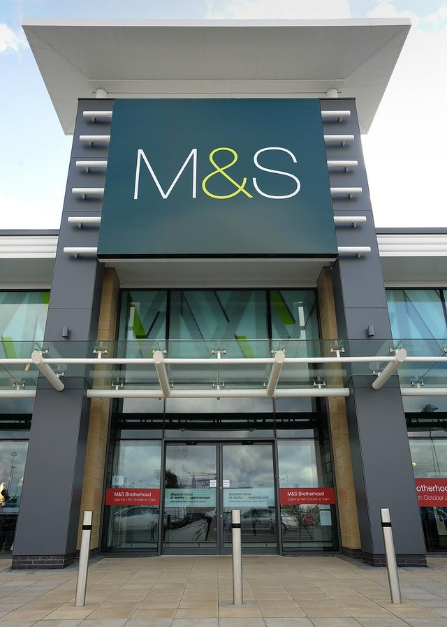 Marks and Spencer at Brotherhood Retail Park in Peterborough. ENGEMN00120121016162826