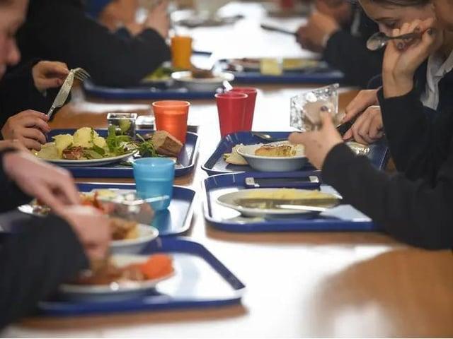 Children on free school meals can receive food vouchers during half-term