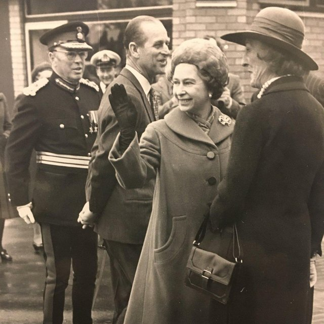 The Duke and The Queen at the opening of The Cresset. Pic: The Cresset