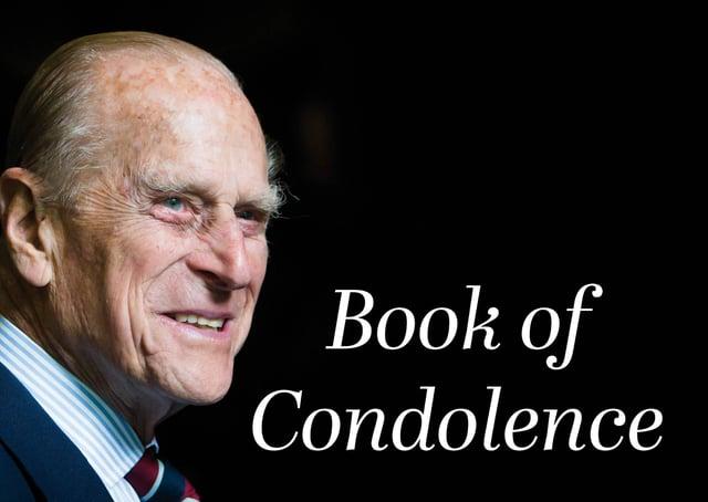 Online book of condolence.