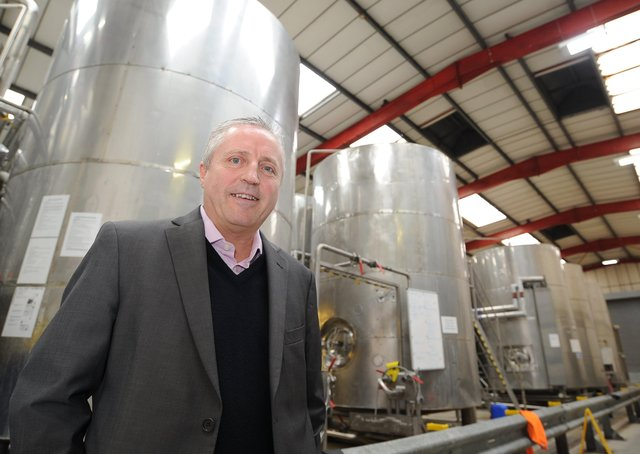 Adrian Posnett, managing firector of Oakham Ales at Woodston EMN-200219-160426009