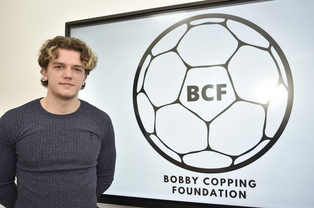 Bobby Copping at Stamford College