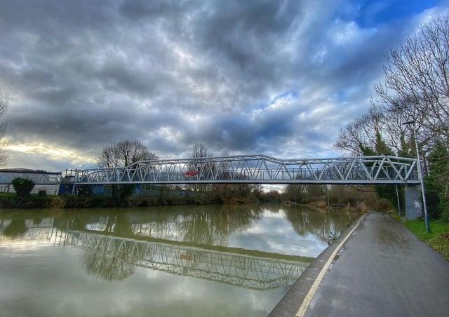 River Nene Railworld bridge looking west from northern footpath Photo: Peterborough Civic Society