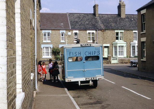 Do you remember the mobile chippy pictured in Bamber Stret?