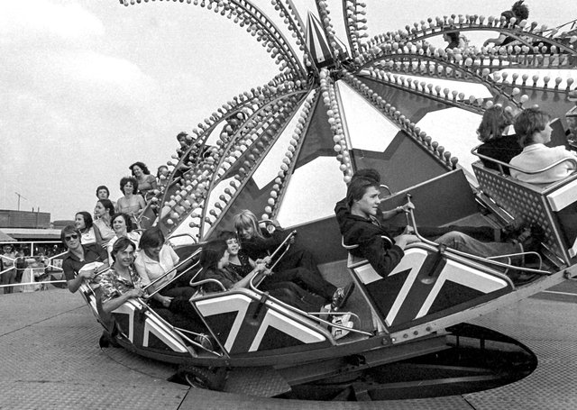 Are you in this picture from the East of England Showground in the 80s?
