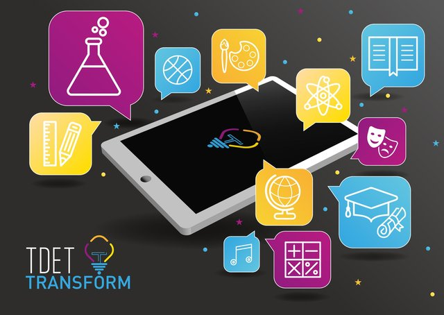 Pupils will be given iPads as part of the TDET Transform project