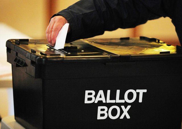 What is voter turnout likely to be in local elections in Peterborough next month? Photo: PA EMN-210415-170802001