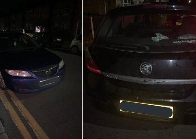 Cars seized in the Peterborough area. All photos: BCH Road Policing Unit