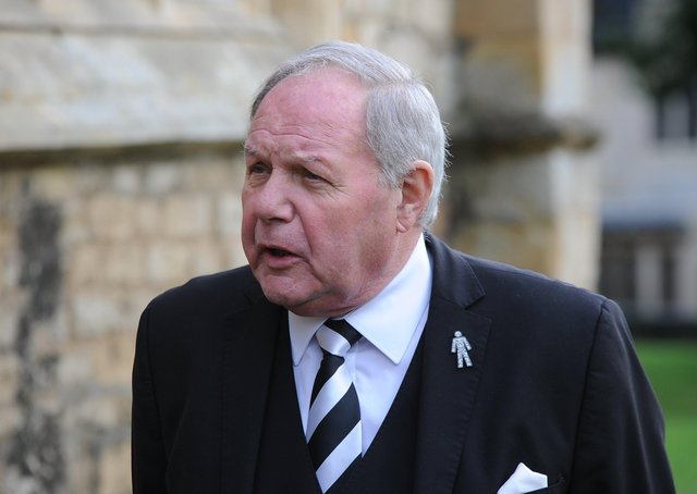 Posh director of football Barry Fry