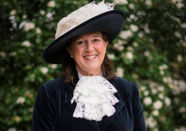 Caroline Bewes, the new High Sheriff