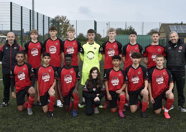 Netherton United under 18s earlier this season.