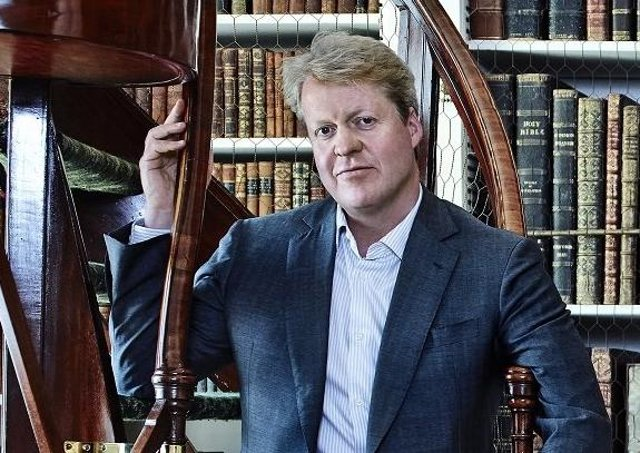 Earl Spencer, Charles Spencer is photographed at his Althorp estate . (Photo by Robert Wilson/Contour by Getty Images) 510237503