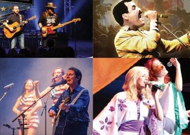 There is a great line up of tribute acts coming to The Cresset.