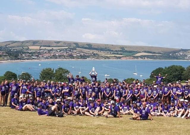 The charity organises an annual walk