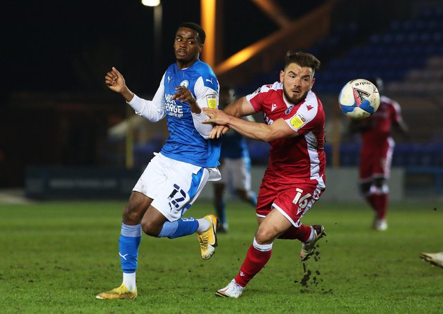 Posh midfielder Reece Brown could miss the game at Charlton.