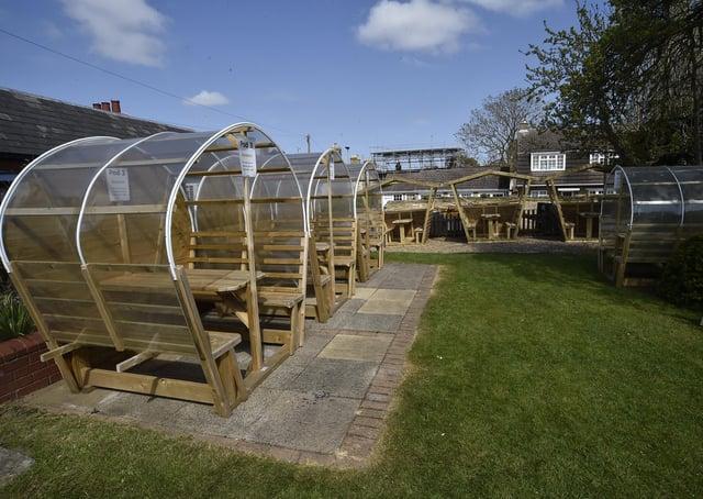 Exteriors of the Blue Bell pub at Werrington EMN-210421-155259009