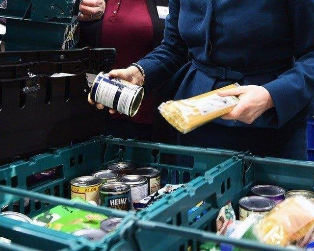 There has been a 25 per cent rise in the number of emergency food bank parcels provided to families in Peterborough through the Trussell Trust