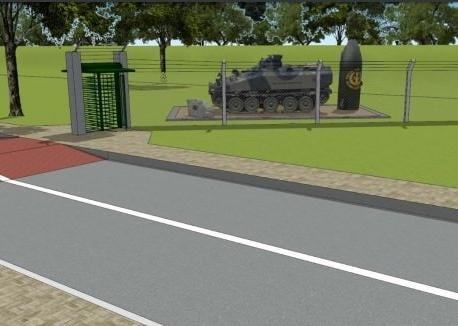 How the new memorial would look