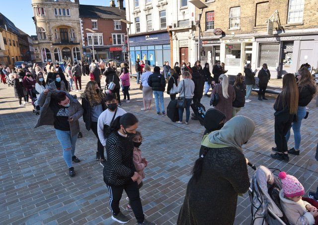 City Centre  Covid 19 lockdown restrictions ease on April 12. EMN-211204-123947009