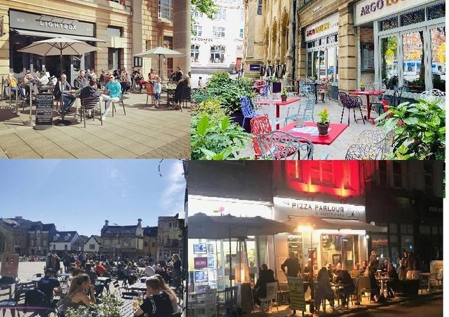 Great places to eat and drink in the city centre