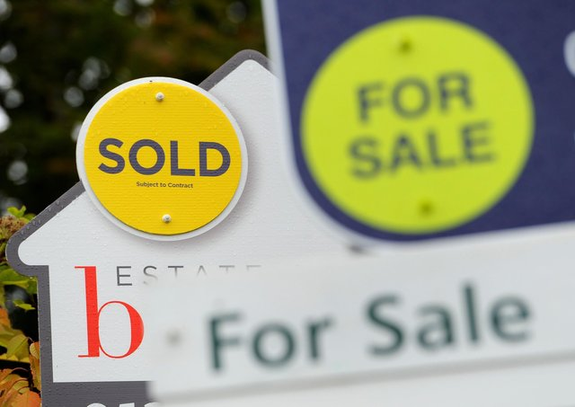House prices up in Peterborough in February. Photo: PA EMN-210423-175843001