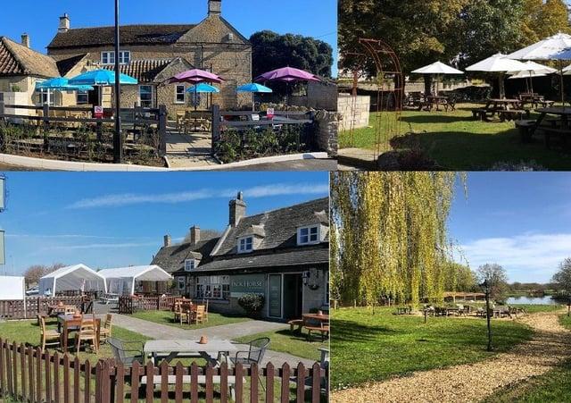Look at these village pub gardens