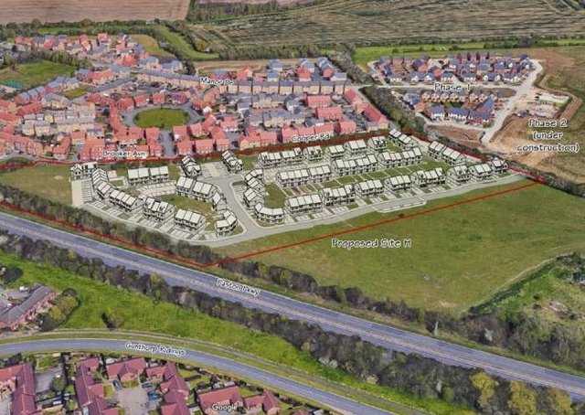 Plans for 110 new homes at Paston Reserve