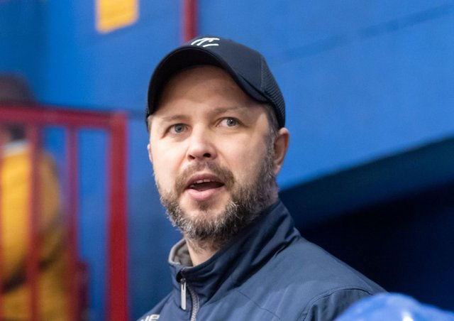 Phantoms coach and co-owner Slava Koulikov.