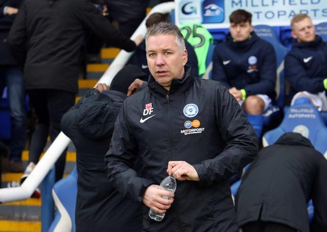 Peterborough United Manager Darren Ferguson - Mandatory by-line: Joe Dent/JMP - 26/12/2019 - FOOTBALL - Weston Homes Stadium - Peterborough, England - Peterborough United v Doncaster Rovers - Sky Bet League One EMN-191231-143624002
