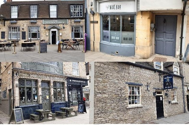 Pubs and bars in Stamford to visit