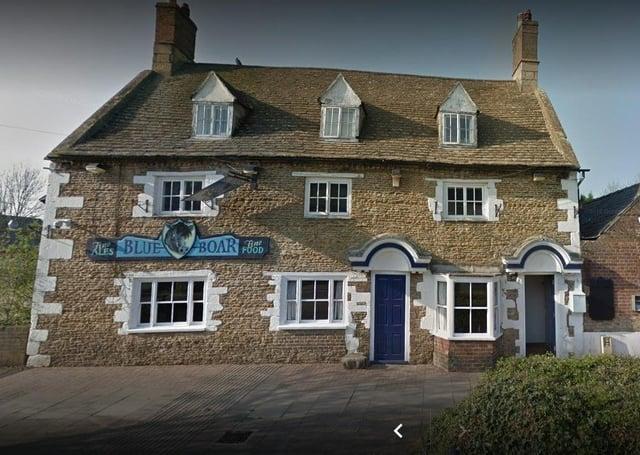 The Blue Boar pub in Eye.