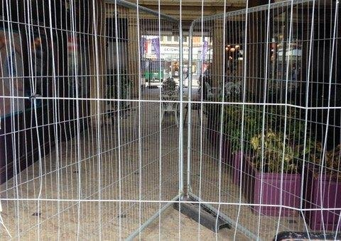 St Peter's Arcade is currently closed